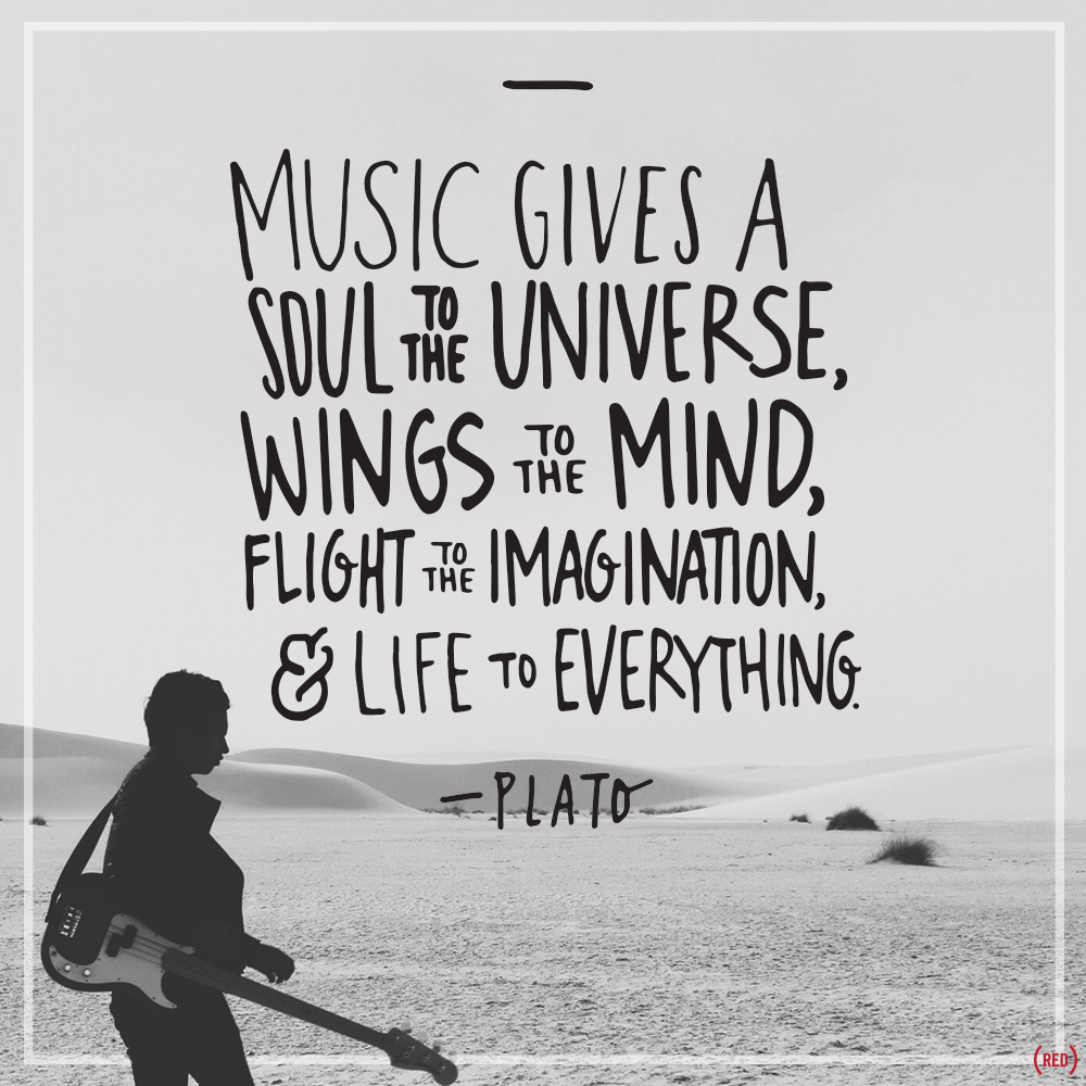 soul passion gives universe quotes plato mind wings flight imagination children quote sound inspiring through everything inspires words musical sayings